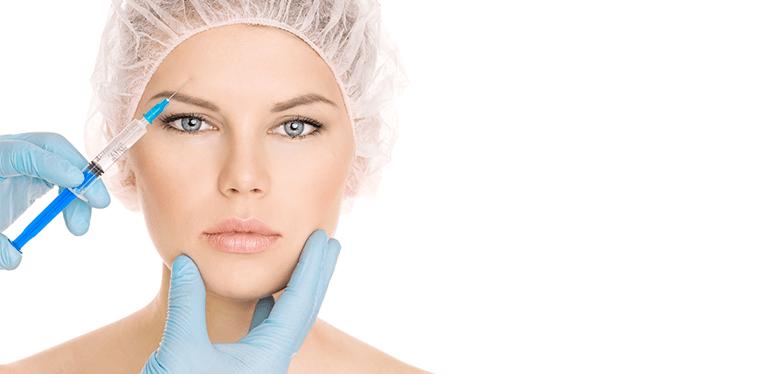 woman botox