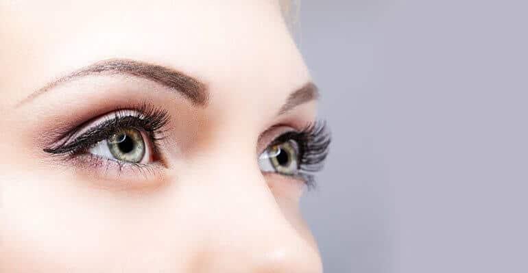 eye makeup lashes